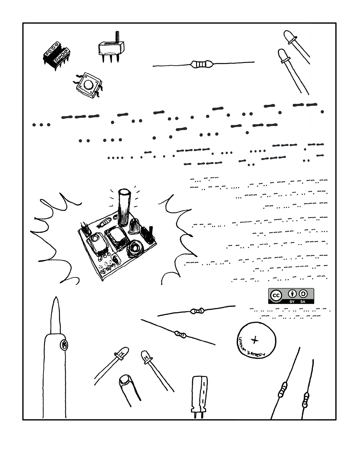 Cornfield Electronics Projects Free Circuits Please Feel To Copy This Comic And Spread It Around Or Translate Into Another Language Let Me Know Info At Cornfieldelectronics