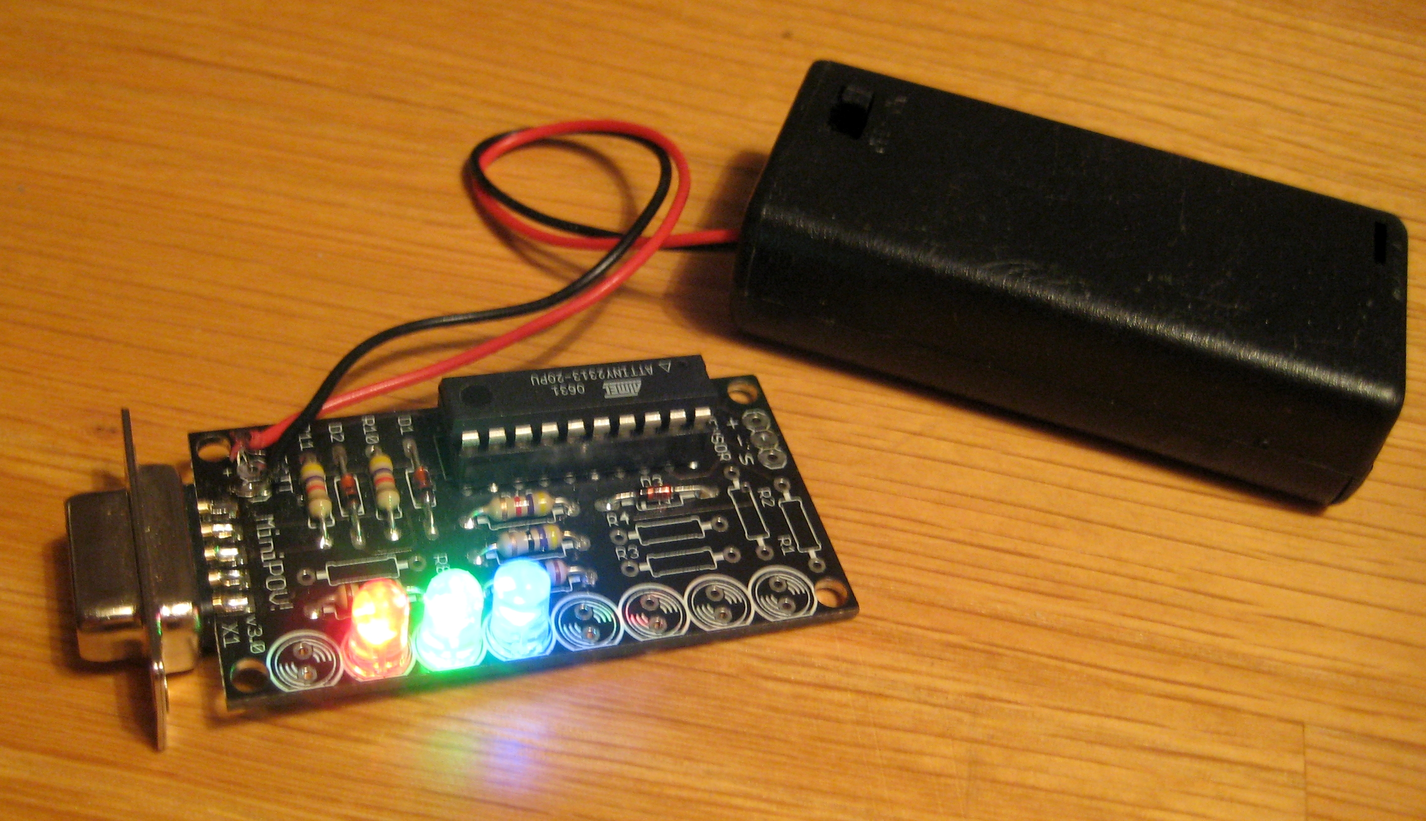 Cornfield Electronics Projects Avr Chess Game Using And Touch Screen Lcd Free Microcontroller Project Make Your Own Trippy Rgb Light
